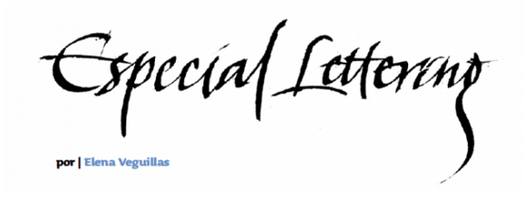 «Especial Lettering», published in Iconographic magazine 03