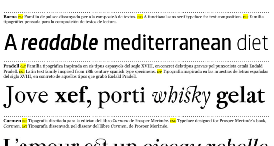 font 'window shopping' in the latin-american spectrum (vol i)