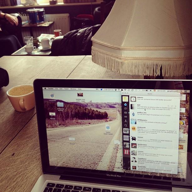 Brighton, waiting for Ampersand2013