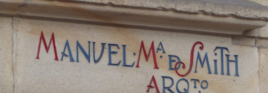 Public lettering 3: Manuel M Smith and the Sota Building
